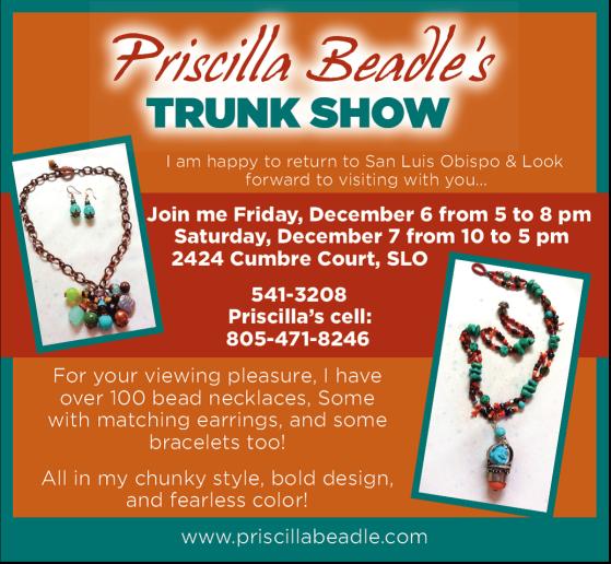 Trunk Show December 6 & 7 2013