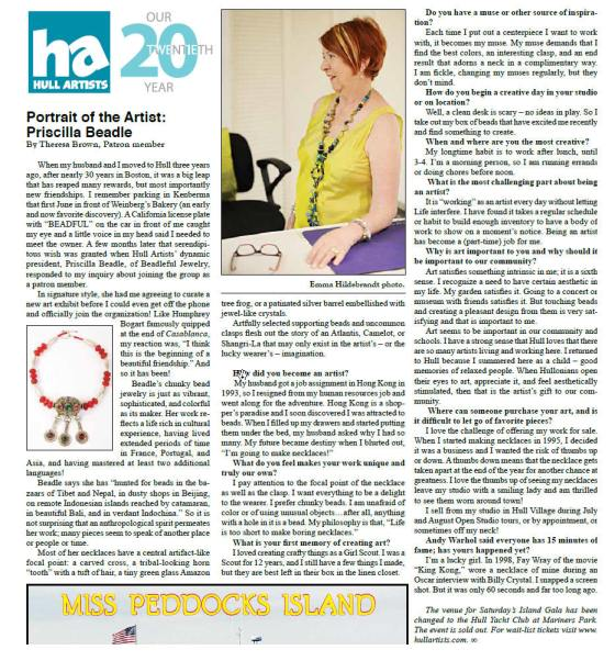 Priscilla in the Hull Times